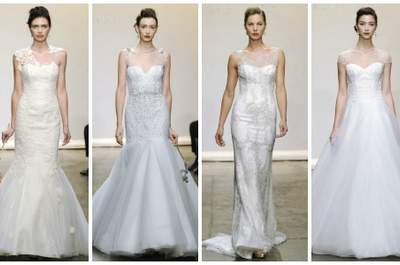 Ines di Santo Wedding Dresses Fall 2013: More is More
