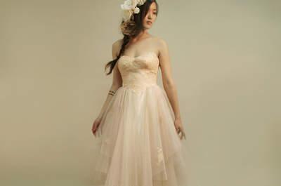 Vestidos de noiva para casamentos na primavera