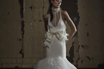 Vestidos de novia 2016 con moños y lazos: Los diseños más encantadores ¡sólo para ti!