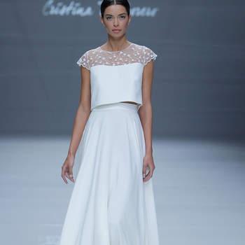 Photo : Cristina Tamborero, Barcelona Bridal Fashion Week