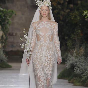 Reem Acra. Créditos: Barcelona Bridal Fashion Week