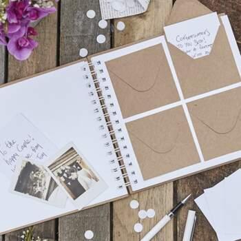 Livre D'or Messages Secrets - The Wedding Shop !
