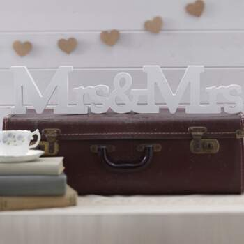 Décoration Mrs Et Mrs - The Wedding Shop !