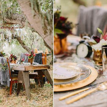 Hochzeitsdekoration aus Holz - Die schönsten Ideen und Inspirationen!