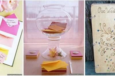 Originele ideeën voor het gastenboek op jouw bruiloft!