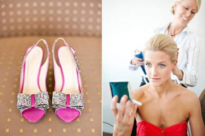 Destello en tu boda: Los zapatos más glam con aplicaciones y brillos