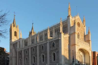 Las 12 iglesias más bonitas de Madrid para casarse