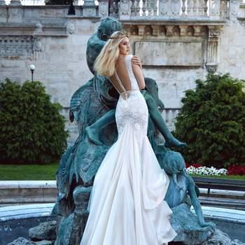 Foto: Modelo Roxanne de Galia Lahav Haute Couture