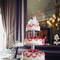 Du rose et des arabesques : quoi de plus savoureux pour un gâteau de mariage ? - Photo : 2Rings Trouwfotografie & Feeststudio