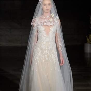 Créditos: Reem Acra   Barcelona Bridal Fashion Week