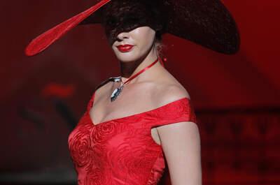Vestidos de fiesta Sonia Peña 2017: sofisticación y buen gusto