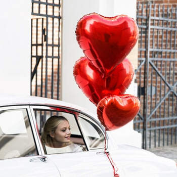 Globo corazón rojo- Compra en The Wedding Shop