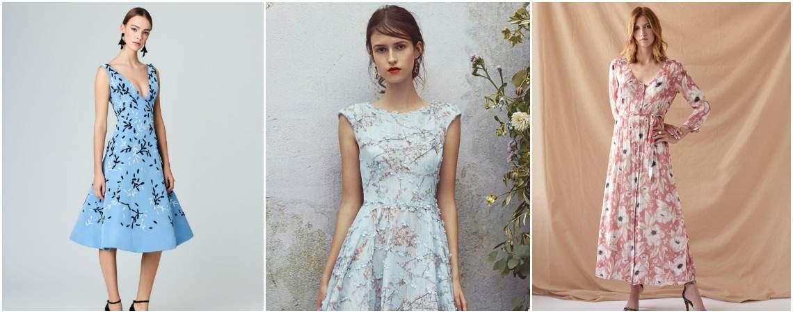 Más de 40 vestidos de fiesta estampados: mucho color y alegría en tu look de invitada