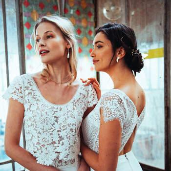 Photo : Guillaume Gilles - Elsa Gary, robes de mariée Futur et Singulière