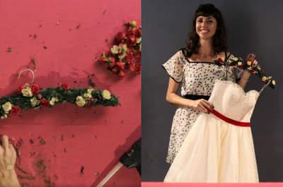 Meu casamento DIY - aprenda a fazer um cabide LINDO para o seu vestido de noiva!
