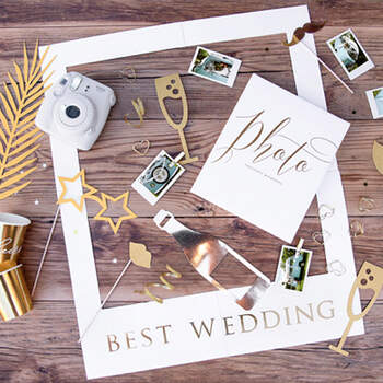 "Atrezzo Photocall ""Luxury"" - 8 Unidades - Compra en The Wedding Shop"