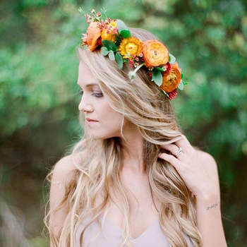 Espectaculares peinados de novia con pelo suelto. ¡Triunfa con naturalidad!