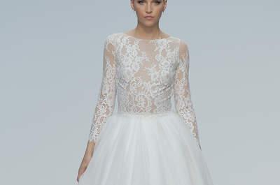 Vestidos de novia Hannibal Laguna 2018: una colección diseñada para enamorar