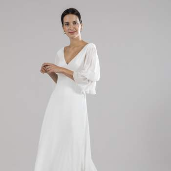 Photo : Printemps Mariage - Donatelle Godart, robe Birds 3.800€
