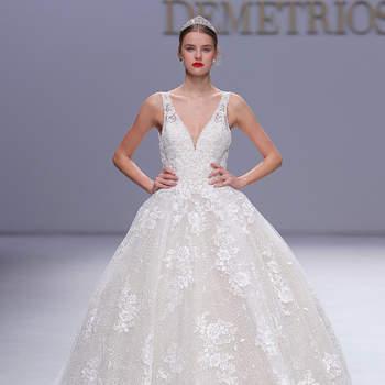 Créditos: Demetrios   Barcelona Bridal Fashion Week