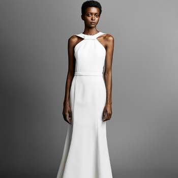 GRAPHIC BOW BACK FIT AND FLARE, Viktor and Rolf