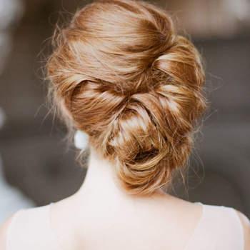 Pentado para noiva com cabelo preso | Foto: Sylvie Gil Photography