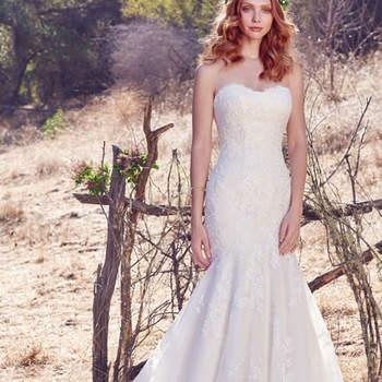 Sie wollen bei Ihrer Hochzeit lieber auf ein hautenges Modell setzen, das Ihre Rundungen in Szene setzt? Dann sollten Sie sich das Modell Aretha auf keinen Fall entgehen lassen!
