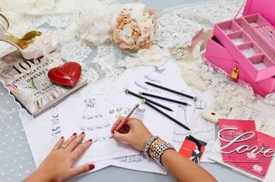 Top estilistas de vestido de noiva que fizeram o seu próprio vestido para o grande dia!
