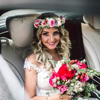 Foto: Fine Art Weddings Photography / Floristik: Binderei Blumen und Besonderes