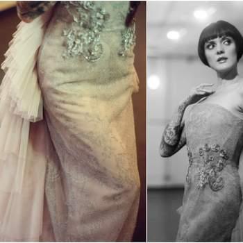 Credits:  Hair + make-up: Paola Bianchera Hair&Make-Up; Dresses: Uel Camilo, Clara Garcovich PR Agency Milan; Model: Cleo Viper;  Photography: Cinzia Bruschini; Planning + design: Le Jour du Oui