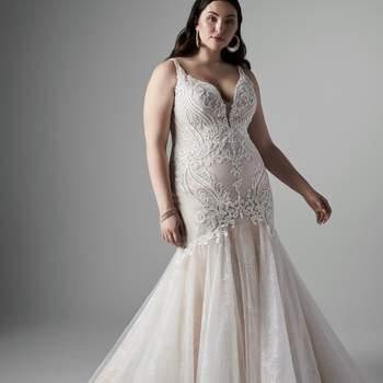 Modelo vestido Emmanuelle Lynette da Sottero and Midgley