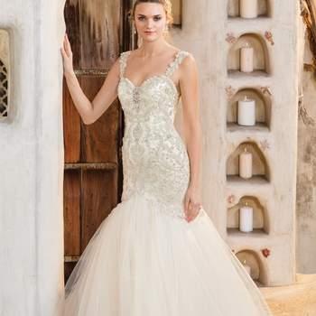 Style 2307 Cora. Credits: Casablanca Bridal