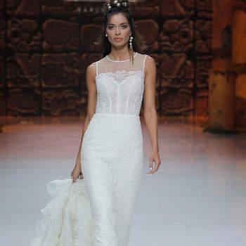 Inmaculada Garcia. Credits: Barcelona Bridal Fashion Week