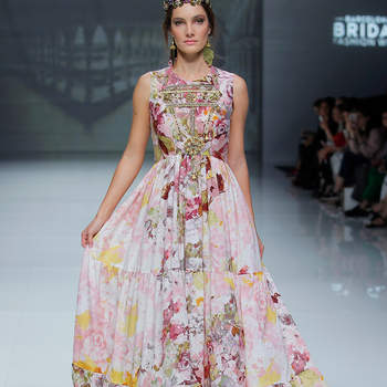 Matilde Cano. Créditos: Barcelona Bridal Fashion Week
