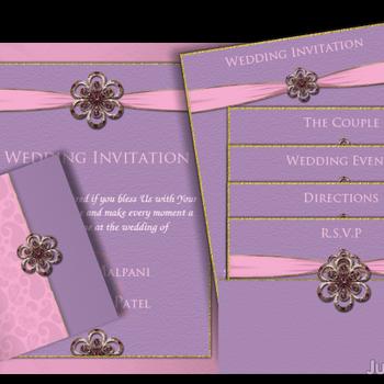 Credits: Rachna Wedding Card.
