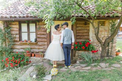 Zauberhaft & rustikal: Die Shabby Chic Hochzeit von Alicia & Matteo in Italien