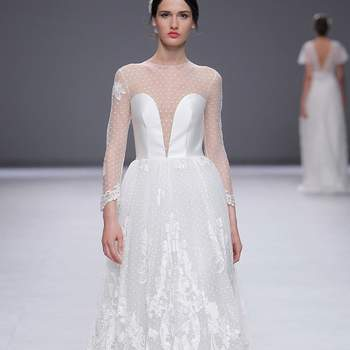 Esther Noriega. Barcelona Bridal Fashion week.