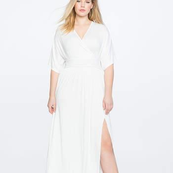 Kimono Maxi Dress. Credits- Eloquii