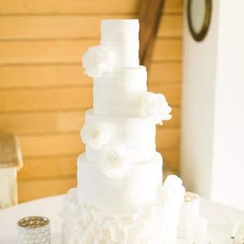 Inspiração para bolos de casamento simples, mas fabulosos! | Créditos: The Cake Shop - Cake Design by Sónia Marreiros