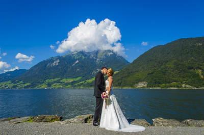 Unkompliziert, fröhlich & kreativ: So sieht geniale Hochzeitsfotografie in der Schweiz aus!