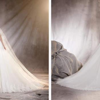 Ein Hochzeitskleid mit Schwachen – für diejenigen, die sich zwischen Sirene und Prinzessin nicht entscheiden können.