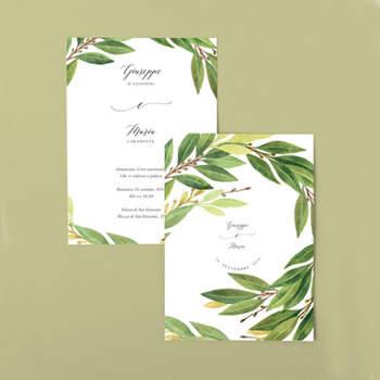 Invitaciones Ramitas Laurel- Compra en The Wedding Shop