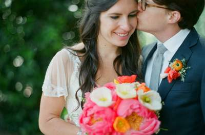 Un matrimonio fatto di... corallo! Foto Esther Sun