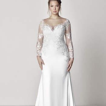 Modelo vestido Euli da Pronovias