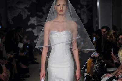 Os mais lindos vestidos de noiva Carolina Herrera 2015 – New York Bridal Week