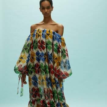 Coleção Vestidos Cerimónia Reem Acra 2020