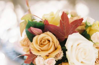 Herfst bloemen voor uw bruiloft, voor het perfecte bruidsboeket!