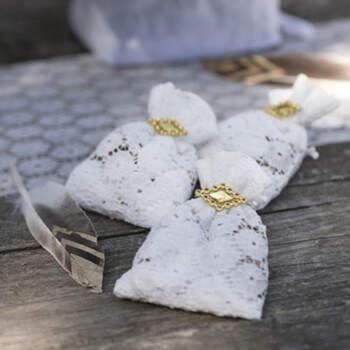 Bolsas Motivos De Encaje Floral 6 unidades- Compra en The Wedding Shop