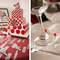 Ejemplos de decoración con toques de rojo. Fotos: Juya Fotógrafo