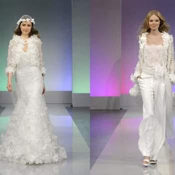 Robe de mariée en dentelle collection 2013 de Cymbeline Source : paperblog.fr
